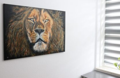 Lion acrylics may 2021